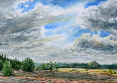 Chmury nad ugorem